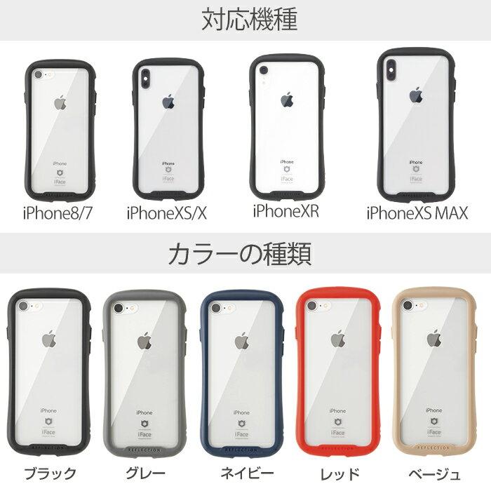 530f99bae4 【楽天】iFace 透明 クリアケース iPhone8 ケース XR XS X XSMax iPhone7ケース Reflection 強化ガラス の売れ筋人気ランキング商品