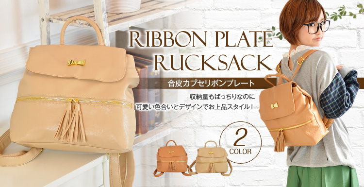 RIBBON PLATE RUCK SACK