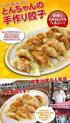 とんちゃんの手作り餃子