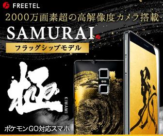 SAMURAI フラッグシップモデル「極」