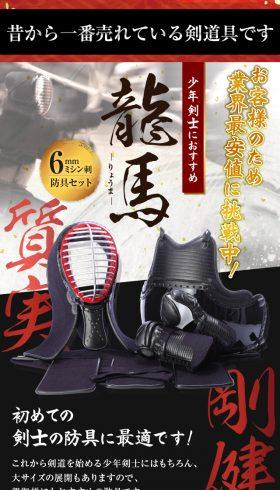 初心者向け剣道防具【龍馬】
