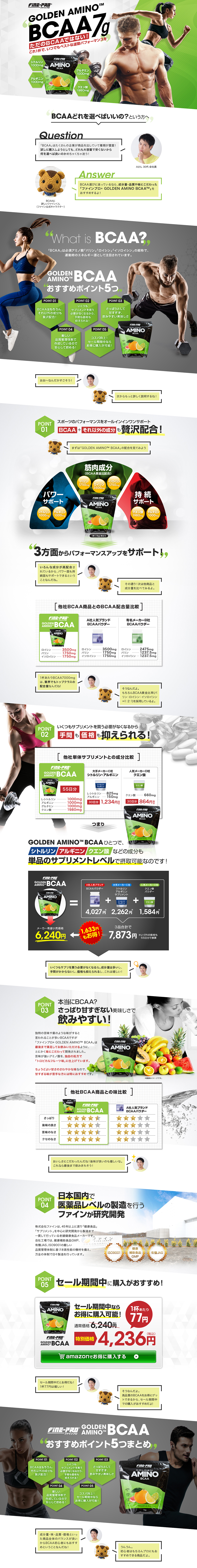 GOLDEN AMINO BCAA